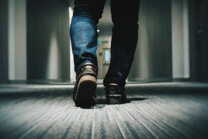 Walking On Carpet