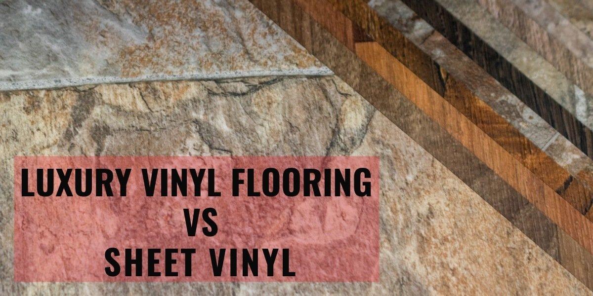 Luxury Vinyl Flooring Vs Sheet Vinyl Carpet Depot