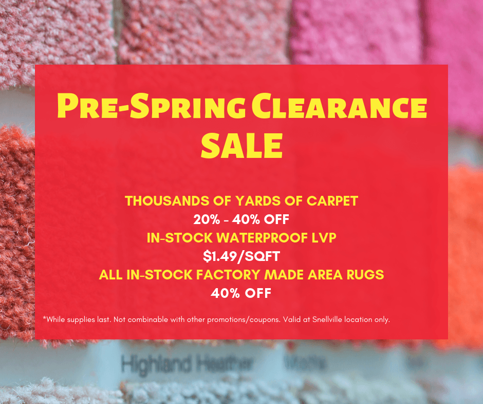 14 Spring For Sale: Pre-Spring Clearance Sale