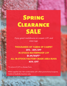 Spring Clearance Sale - Snellville