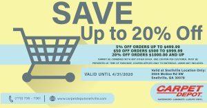April 2020 Flooring Coupon Snellville
