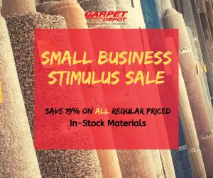 Small Business Stimulus Sale